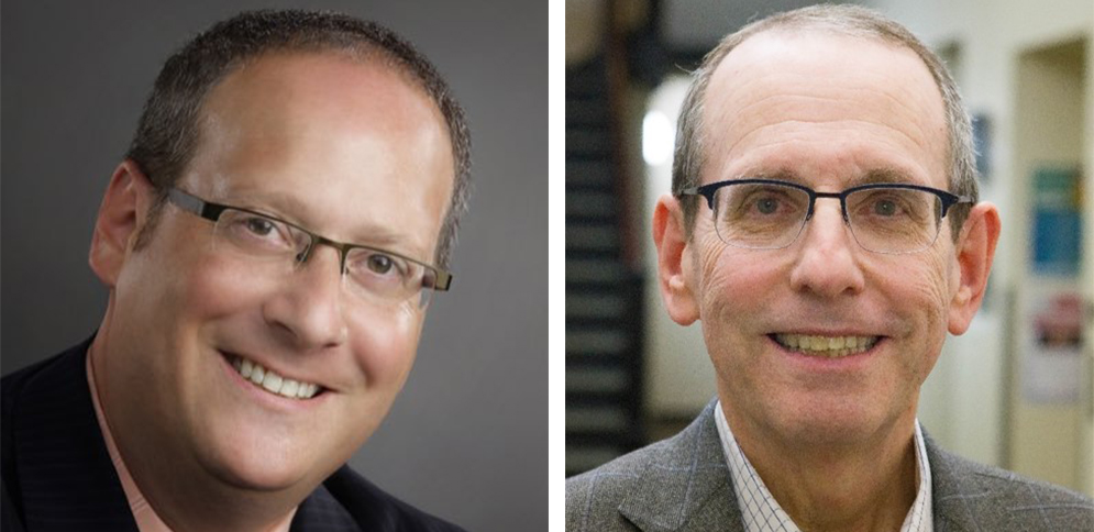 Stan Spracker ('06) President at Levine Music and Josh Carin ('06) CEO of Geppetto Catering